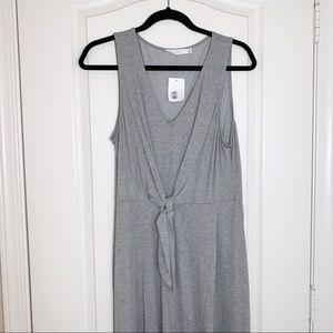 Lush | NWT Tie Front V-Neck Dress